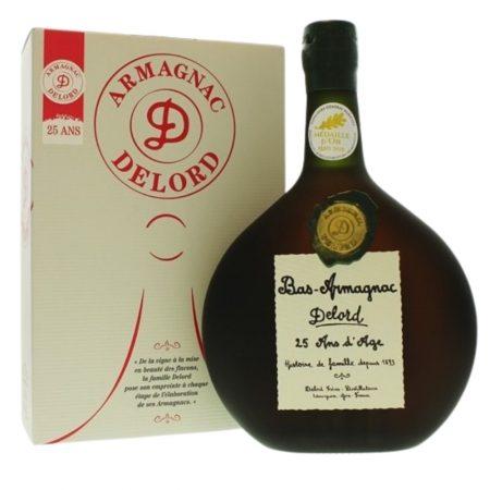 Bas Armagnac Delord 25 Ans d'age - divino wineshop liqeur store iasi