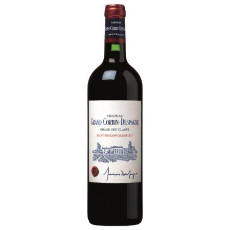 Château Grand Corbin Despagne Saint-Émilion Grand Cru Classé 2018- divino wineshop liqeur store iasi