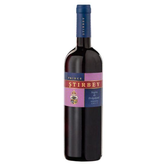Stirbey Negru de Dragasani Rezerva 2017- divino wineshop liqeur store iasi